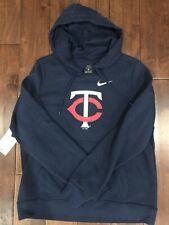 Womens Minnesota Twins Hoodie Sweatshirt Large L Nike Loose Fit New NWT