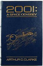 2001: A SPACE ODYSSEY ~ ARTHUR C. CLARKE ~ EASTON ~ LEATHER BOUND GIFT ED COBALT