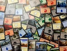 300 Basic Land Lot Magic the Gathering Instant Collection 60 of each FREE SHIP