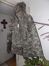 US ARMY MILITARY IMPROVED ACU RAINSUIT WET WEATHER RAIN JACKET PARKA COAT GI XL