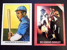 Bo Knows In Baseball Trading Cards For Sale Ebay