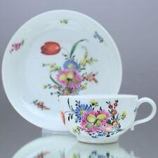 Nymphenburg um 1770: Teetasse mit bunten Blumen, Tasse, Barock, München, tea cup