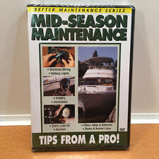 New & Sealed MID-SEASON MAINTENANCE, Dvd, Tips From A Pro
