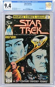 S782. STAR TREK #1 Marvel CGC 9.4 NM (1980) MOVIE ADAPTATION; LEIALOHA Cover