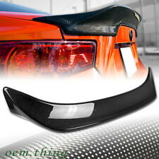 CARBON For GT86 FT86 For TOYOTA SCION FR-S For SUBARU BRZ T Trunk Spoiler 12-18