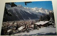 France Chamonix Mont Blanc Neige sur la Station au Fond etc 23325 Chambery - pos