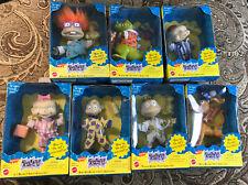 Nickelodeon 1997 Rugrats Slumber Party -set of 7 Nib