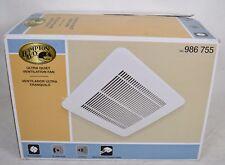 Hampton Bay Bathroom Ceiling Exhaust Fan 30CFM 986755 Ultra Quiet Ventilation