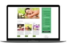 Massage, Spa or Salon Appointment Booking Website WordPress Scheduling