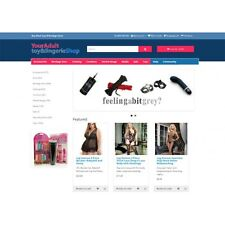 Adult Ecommerce Website - Fully featured, dropship or wholesale - 4,000+ product
