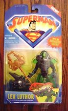 """1996--SUPERMAN """"Lex Luthor"""" (Action Figure) by Kenner [NIP]"""