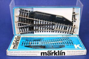 Marklin HO Manual K Type Switch Track Set 2265 / 419G