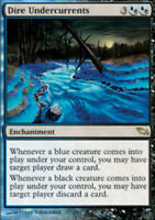 JAPANESE Dire Undercurrents - Shadowmoor - NM, Japanese MTG Magic