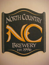 Beer Bar Coaster ~ NORTH COUNTRY Brewery ~ Saratoga, Springs, NEW YORK ~ CLOSED