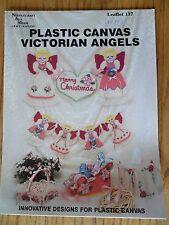 Plastic Canvas Victorian Angels Patterns #137 Needlecraft Ala Mode 1990