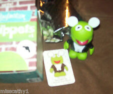"Disney 3"" Kermit Muppets Vinylmation Chaser w/ Box Foil & Card NEW"