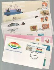 FIRST DAY COVERS unused unaddressed NINE x 1982 all ex+ cond