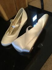 4a2c1589c62 Rainbow Club High (3-4.5 in.) Satin Bridal Shoes for sale