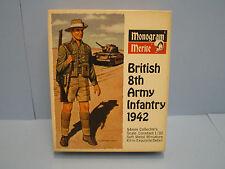 Monogram Merite British 8th Army Infantry 1942 1/32 54mm scale Miniature kit 816
