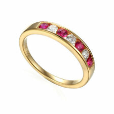 Ruby Natural Fine Gemstone Rings