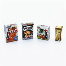 1pc Mini Breakfast Milk Dollhouse Miniature Doll House Scene Drink Supply Decor
