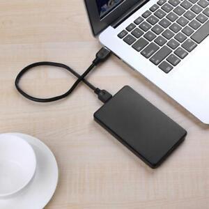 "2.5"" SATA HDD SSD HARD DRIVE ENCLOSURE CADDY CASE USB 3.0 CABLE NEW BLACK"