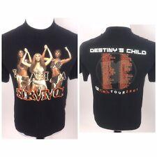Vintage Destinys Child Beyonce I Am A Survivor 2001 TRL Tour Rap T Shirt Sz M
