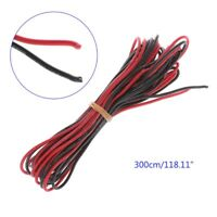 3M 20 AWG Soft Silicone Flexible Wire Cable Heatproof RC Lipo Battery ESC Q