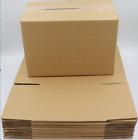 Kraft Paper 10 Large Brown Box 10x6x7 Shipping Corrugated Cardboard Storage Box