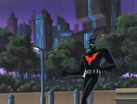 Batman Beyond-Batman-Original Production Cel/OBG-A Touch Of Curare