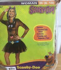 Scooby-Doo! Women's Medium 8-10 Costume New Halloween Cosplay