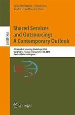 Lecture Notes in Business Information Processing: Shared Services and...