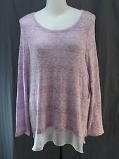 Liz Claiborne Woman, 2X, Xanadu Orchid Sweater, New with Tags