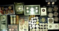 Coin collection lot - American Mint - US mint Variety of silver Coins/Much more