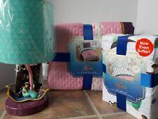 Aladdin Quilt + Sham + Sheet & Lamp Set ~ NEW Jasmine Full Size