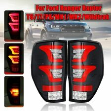 Pair LED Rear Tail Brake Light Lamp For Ford Ranger Raptor T7 PX MK1 MK2