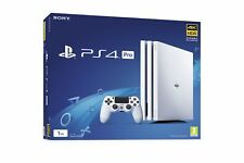 PS4 Pro 1TB White Console Brand New & Sealed UK PAL Quick Dispatch