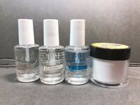 TPI Liquid System Kit 0.5oz + 1oz Clear Dipping Powder Perfection - Made in USA