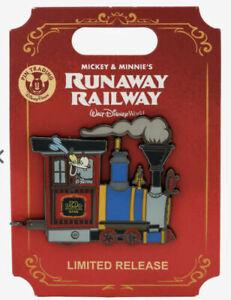 Disney Mickey & Minnie's Runaway Railway Goofy Train Enamel Pin Limited Release