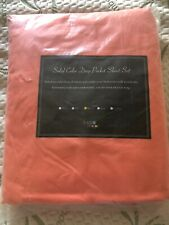 BASIC CHOICE Queen Bed Sheet Set - Brushed Microfiber 2000 Bedding - New Coral
