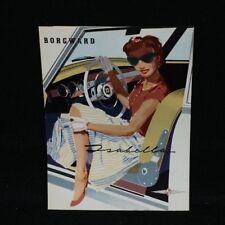 Borgward Isabella Brochure