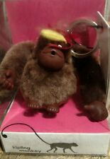 NIB  Kipling Thanksgiving Monkey Key Chain Key Ring Bag Charm( Exclusive!)