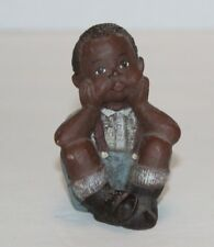 Sarah's Attic Little Boy Granny's Favorites Figurine Made in Usa Free Shipping!