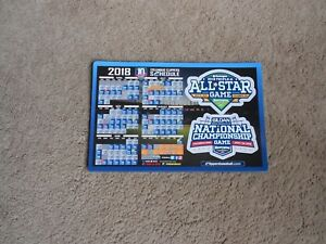 2018 Columbus Clippers Minor League Baseball Schedule Magnet Cleveland Indians