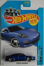 Hot wheels-porsche panamera blaumet. Nouveau/OVP us-Card