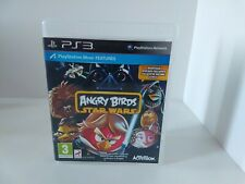 Angry Birds Star Wars Sony PlayStation 3 Game PS3 Kid Game Fast Shipping