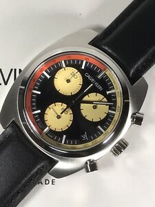 CALVIN KLEIN Achieve Swiss Men's Chrono Date Quartz Watch K8W371C1 5ATM 43mm