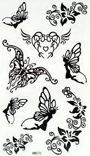 New Einmal-Tattoo Temporary Body Art Wasserdicht HM573 Neu