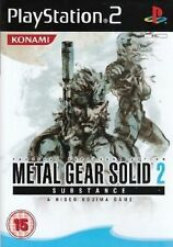 & Metal Gear Solid 2 Substance Sony PlayStation 2 Ps2 Game UK PAL
