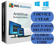 AVG AntiVirus Business Edition 5 PC / 1 Year (Global Activation Code)